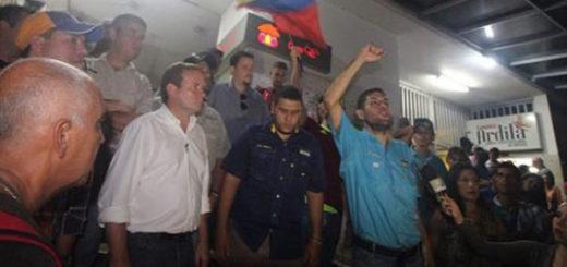 Guanipa y Requesens fueron retenidos en la frontera con Colombia | Foto: NTN24