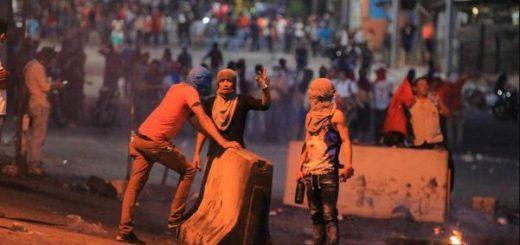 Protesta en Honduras por fraude electoral |  Foto: EFE