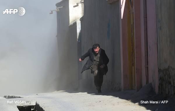 Atentado suicida deja al menos 40 muertos en Kabul | Foto: AFP