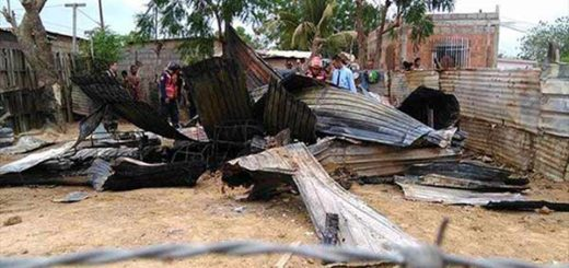 Casa del delincuente linchado   Foto: Notitarde