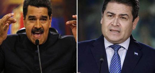 Nicolás Maduro / Juan Orlando Hernández | Composición