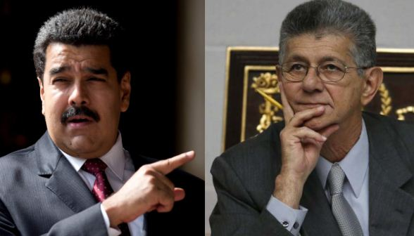 Nicolás Maduro y Henry Ramos Allup   Composición