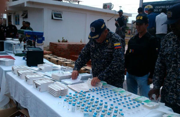 Desmantelan laboratorio clandestino en Maracaibo donde adulteraban medicamentos | Foto: Panorama