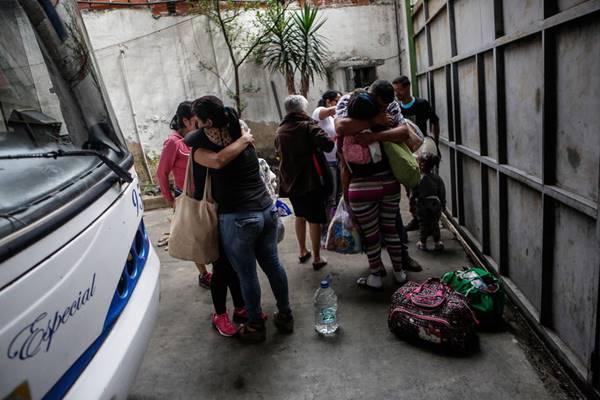 La tristeza invade a las familias venezolanas separadas en Navidad por la crisis   Foto: El Nacional