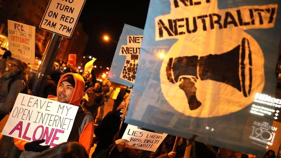 EEUU revocó la normativa que protegía la neutralidad de la red   Foto: AFP