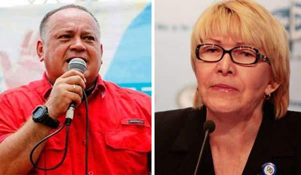Diosdado Cabello y Luisa Ortega Díaz | Composición Notitotal