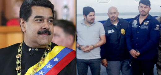 Nicolás Maduro y los sobrinos Flores | Composición Notitotal