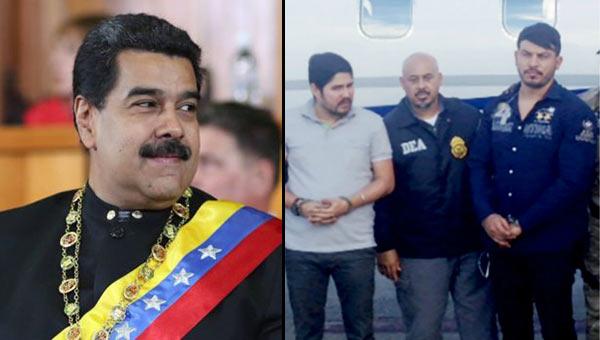 Nicolás Maduro y los sobrinos Flores   Composición Notitotal