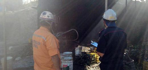 Explosión de bombona en fábrica artesanal de tostones | Foto: El Impulso