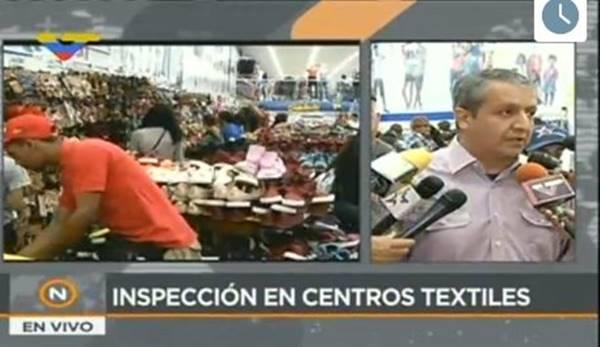 Sundde ordena rebaja del 50% de los precios en centros textiles del país   Foto: VTV