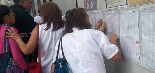 Centro electoral en San Cristóbal, Táchira | Foto: El Pitaza