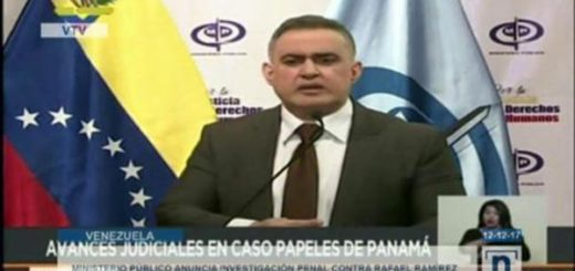 Tarek William Saab, Fiscal General encargado | Captura de video
