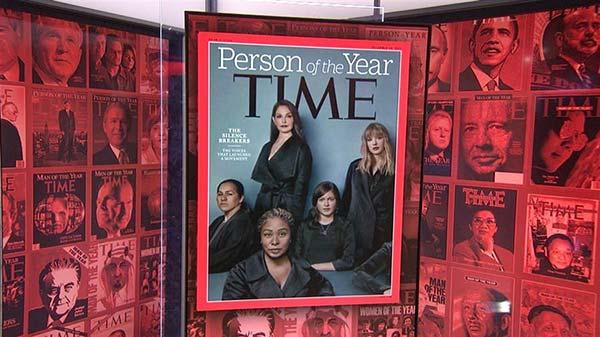 Revista Time nombra Persona del año a los que rompieron el silencio