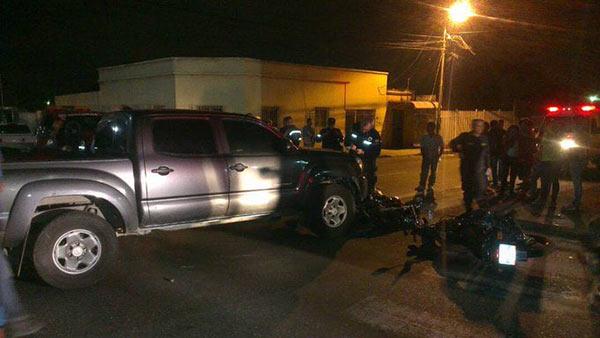 Autoridades alegan que iba a exceso de velocidad |Foto cortesía
