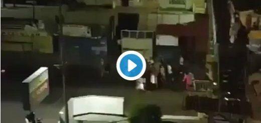 Protestas en Trujillo |Captura de video