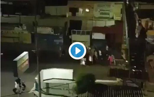 Protestas en Trujillo  Captura de video