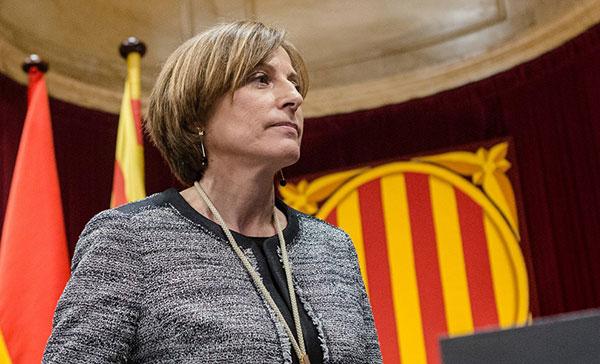Presidenta del parlamento catalán renunció por causa judicial en su contra | Foto cortesía