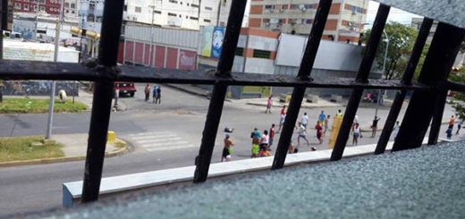 Disturbios en Cumaná no terminaron sino hasta altas horas de la noche |Foto cortesía