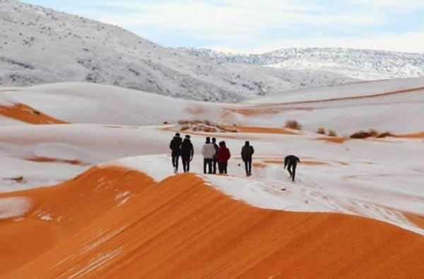 Desierto de  Sáhara |Foto: Agencias