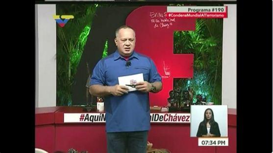 Diosdado Cabello   Foto: Captura de video