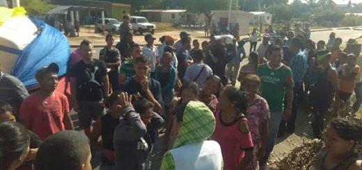 Protesta en Machiques, Zulia |Foto: Panorama