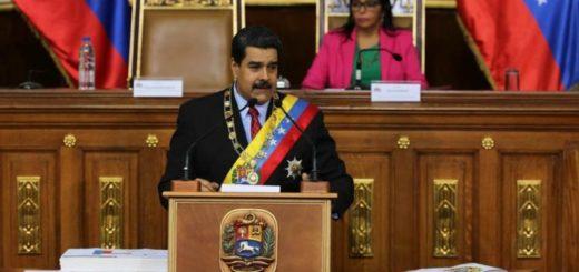 Maduro presentó su memoria y cuenta 2017 ante la ANC | Foto: VTV