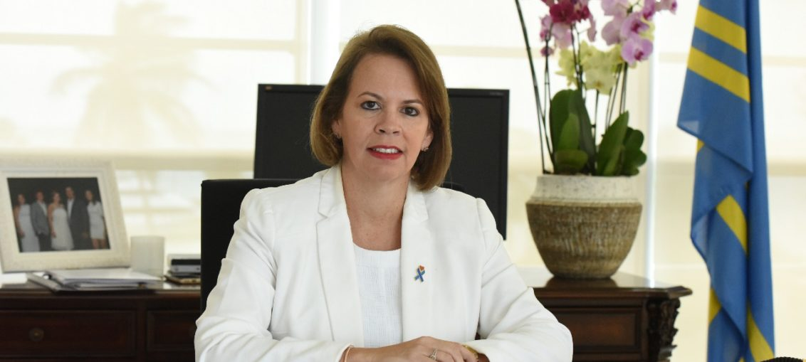 Primera Ministra de Aruba, Evelyn Wever-Croes |Foto cortesía