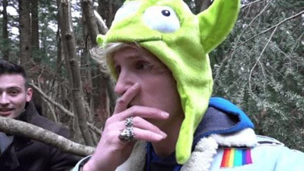 Captura del viral video de Paul Logan, actualmente el audiovisual fue eliminado de la plataforma digital