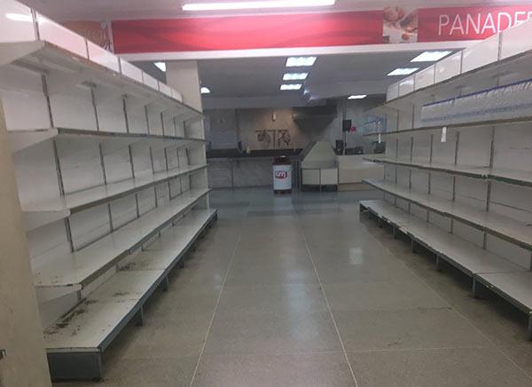 Escasez en supermercados |Foto cortesía