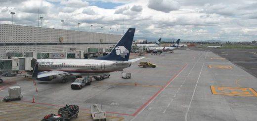 Aeropuerto Internacional de México | Foto: EFE