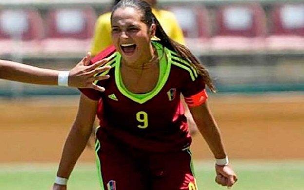 Deyna Castellanos condujo a Venezuela a la victoria sobre Uruguay | Foto cortesía