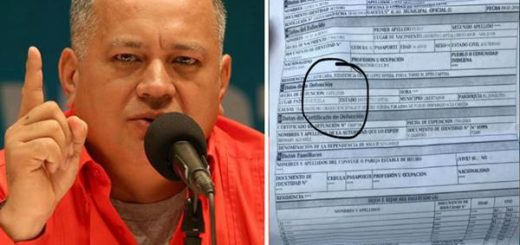 Cabello quiso desmentir veracidad del acta de defunción de Óscar Pérez y así le taparon la boca | Fotos:  Globovisión - @ElyangelicaNews
