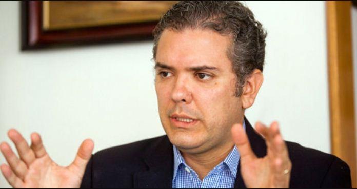 Iván Duque, candidato presidencial de Colombia   Foto cortesía