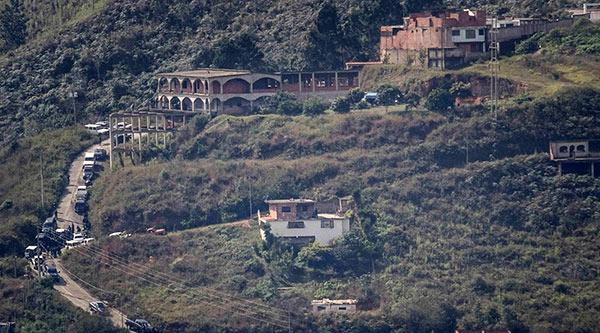 Refugio de Óscar Pérez en El Junquito | Foto: El cooperante