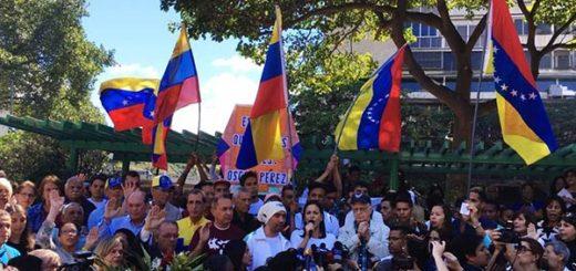 Detienen a manifestante que mostró sus genitales a la GNB durante protesta