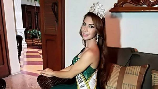 Reyna Angélica García, reina de belleza de Nicaragua   Foto: Cortesía