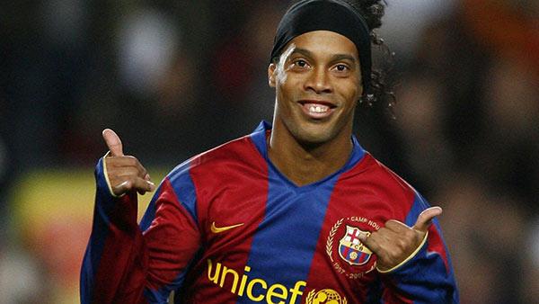 Ronaldinho   Foto cortesía