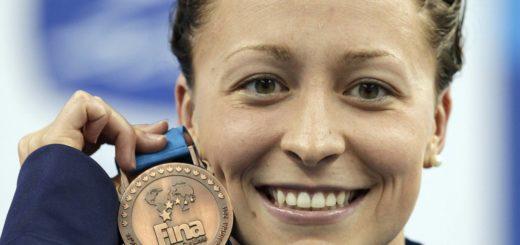 Ariana Kukors, campeona del mundo de natación en 2009