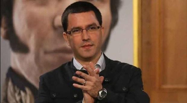 El canciller Jorge Arreaza