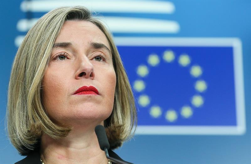 Federica Mogherini representante de la UE