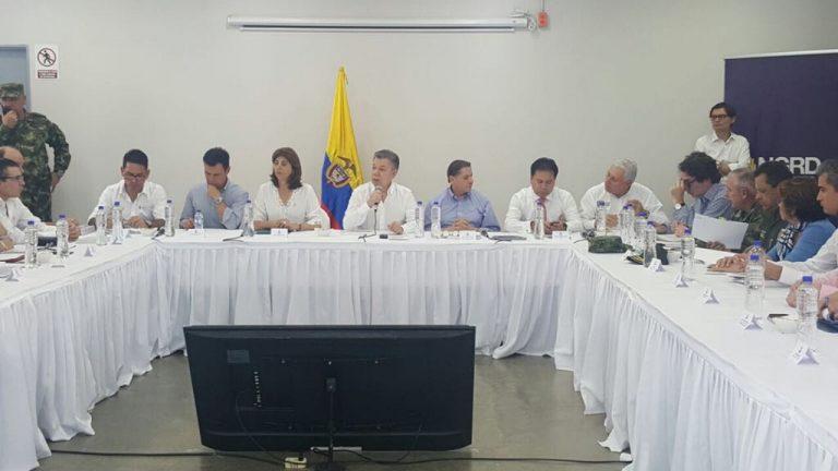 Santos afirma que el país neogranadino debe ir de la mano con la Comunidad Internacional para afrontar crisis de la frontera colombo-venezolana