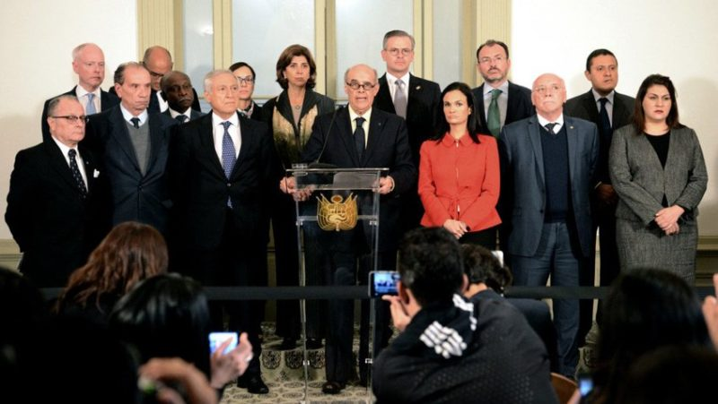 12 países piden acompañamiento internacional para diálogo en Venezuela
