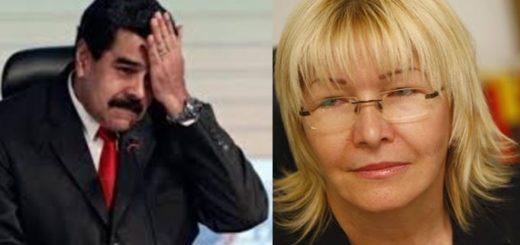 Luisa ortega y Nicolas Maduro