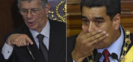 Nicolás Maduro con Henry Ramos Allup