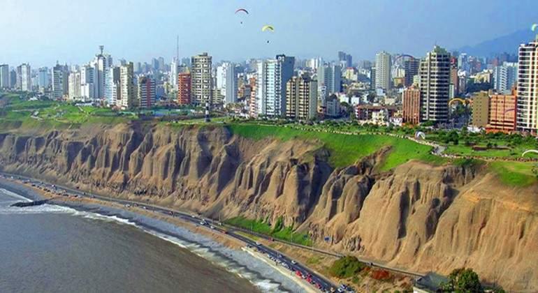 Costa de Lima, Perú.