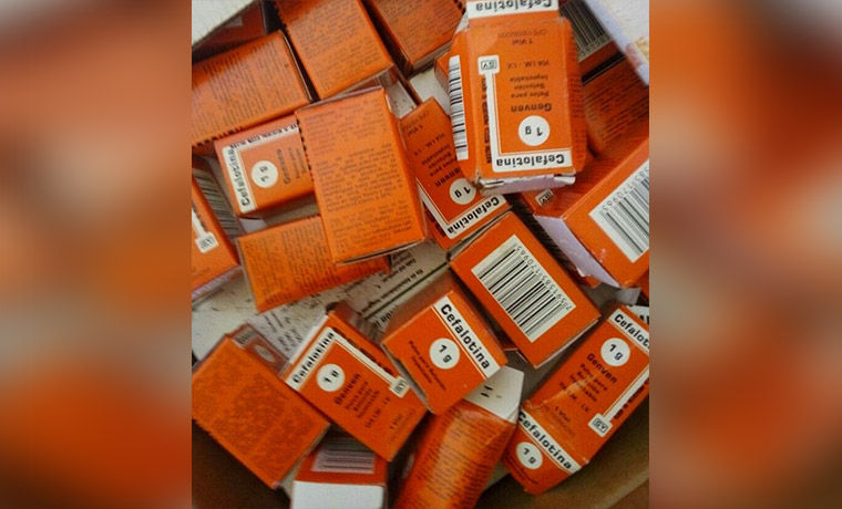 medicinas acaparadas