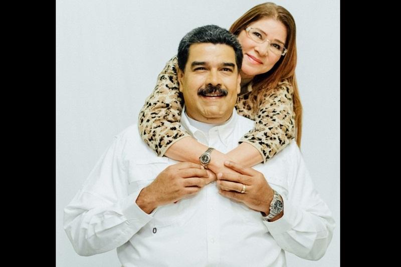 """""""FELIZ DOMINGO. Gracias Cilia por caminar a mi lado, juntos todo es posible. ¡Que tengan un gran domingo!"""" Escribió Maduro en sus redes sociales."""