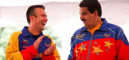 Aissami y Maduro