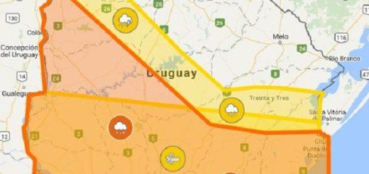 seis regiones de Uruguay