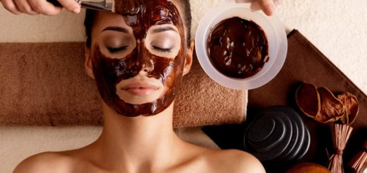mascarilla a base de chocolate